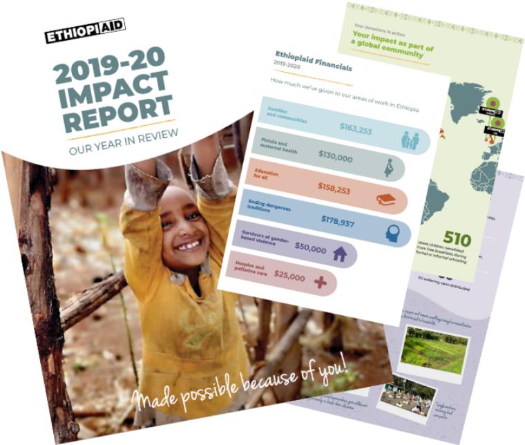 Ethiopiaid Australia Impact Report 2019-2020