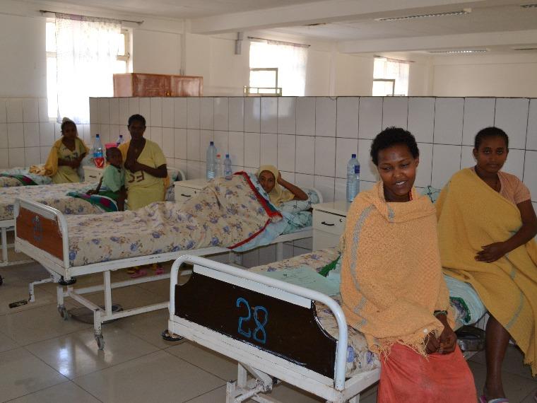 Obstetric fistula survivor at the Gondar Fistula Hospital