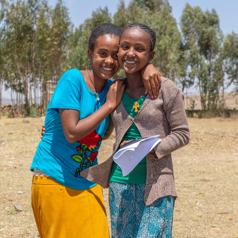 Teenage girls in rural Ethiopia can finish their education through monthly giving programs