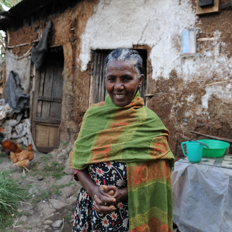 Agricultural training helped Mare lift her family out of poverty and address the gender inequality in Ethiopia she was facing