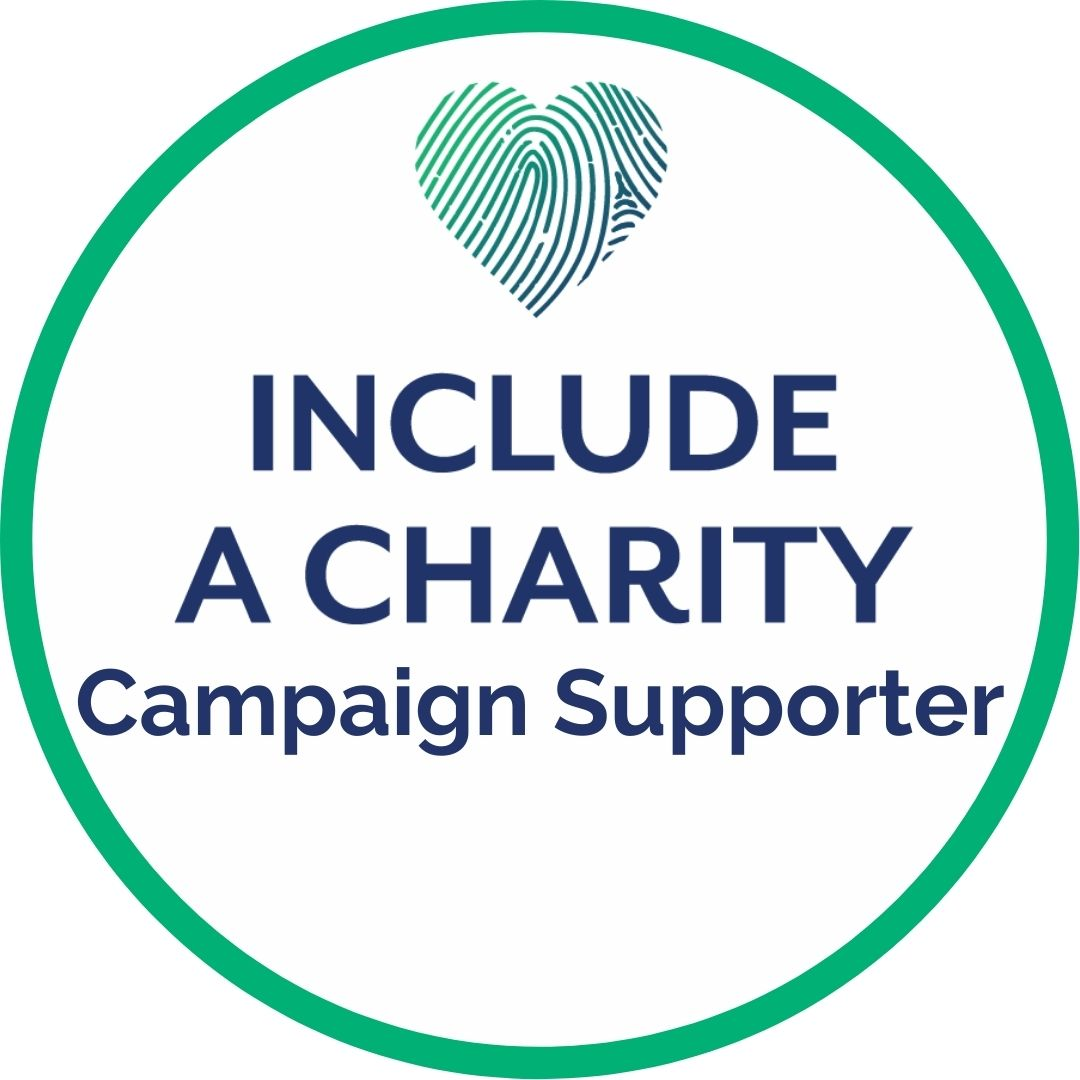 Include A Charity supporter badge